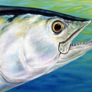 Dogtooth Tuna fish painting for sale