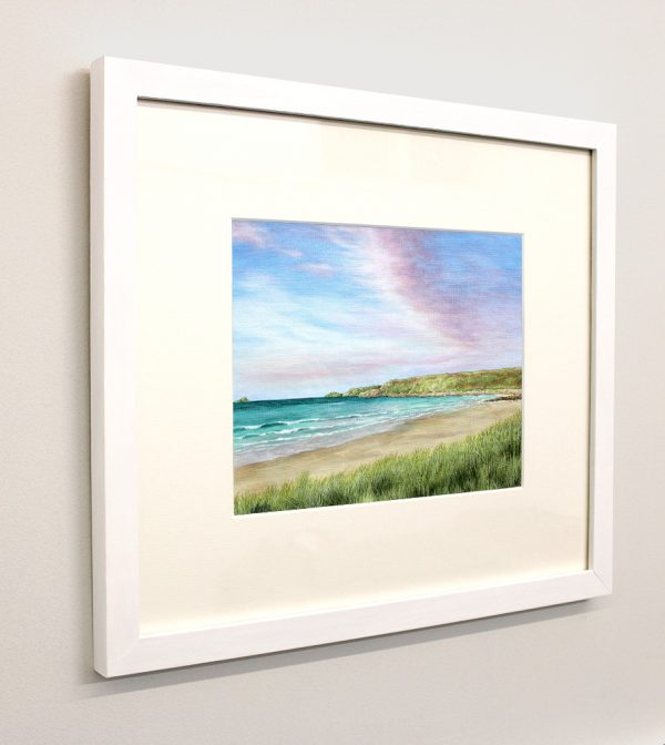 Framed picture of Sennen Beach, Cornwall